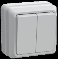 Электроустановочные изделия открытого монтажа IP20