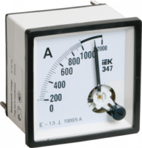 Амперметр аналоговый Э47 100/5А класс точности 1