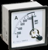 Амперметр аналоговый Э47 1500/5А класс точности 1