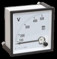 Вольтметр аналоговый Э47 100В класс точности 1