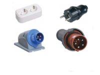 Изделия электроустановочные, удлинители и силовые разъемы